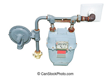 gas meter - natural gas meter outdoor unit