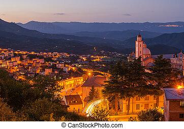 Mountain town - Lanusei (Sardinia) - Mountain town - Lanusei...