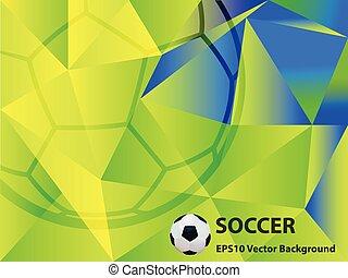 futbol, Extracto,  vector, Plano de fondo, Ilustración