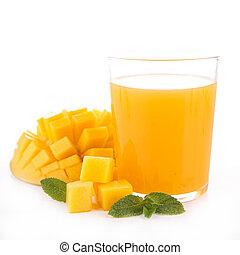 芒果, 汁