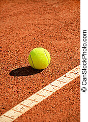 tennis ball near markup diagonal vertical - tennis ball near...