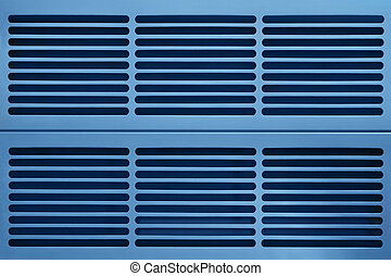 aluminum ventilation grid - abstract industry background...