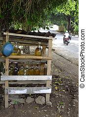 gas station - old vintage gassatation indonesia