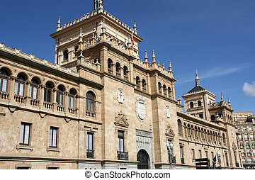 Valladolid architecture - The Academia de Caballeria...