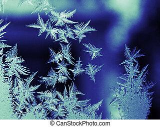 Frost on window - Frost oh window