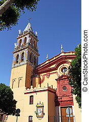 Iglesia De Santa Ana, Triana District, Seville, Andalucia,...