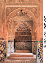 Moroccan tomb