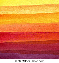 Abstract watercolor painted background - Abstract strip...