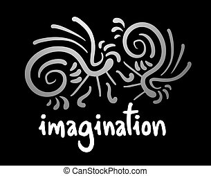 Imagination symbol - Creative design of imagination symbol