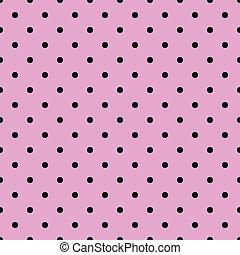 Polka dots seamless vector pattern