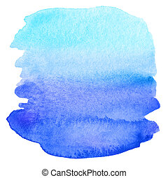 Abstract watercolor painted background. Paper texture.