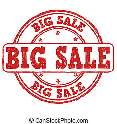 Big sale stamp