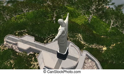 statue of Jesus Christ - image of statue of Jesus Christ