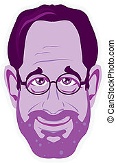 College Professor - college professor illustration vector...