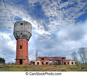ruins of old water-tower