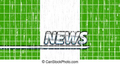 Flag of Nigeria news