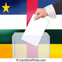 electoral vote by ballot, under the Central African Republic...
