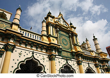 Singapore landmark - Masjid Abdul Gaffoor in Singapore...