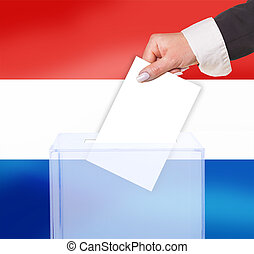 electoral vote by ballot, under the Luxembourg flag