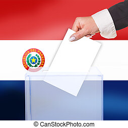 electoral vote by ballot, under the Paraguay(OBV) flag