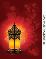 Beautiful Islamic Lamp for Ramadan - Beautiful Islamic Lamp...