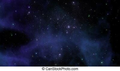 Nebula, space background - Universe, deep space with nebula,...