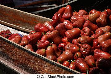 rosÈ, maçãs