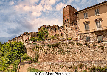Colle di Val d'Elsa, Tuscany, Italy - Colle di Val d'Elsa,...