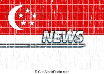Flag of Singapore news