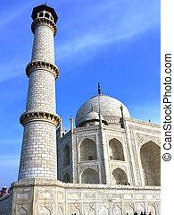 Taj Mahal in Agra, Uttar Pradesh, India.