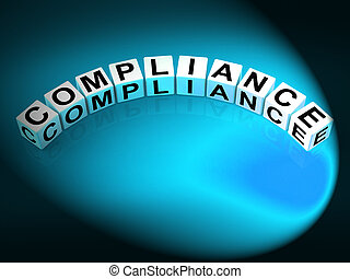 Compliance Letters Mean Agreeing To Rules And Policy -...