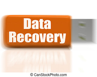 Data Recovery USB drive Means Safe Files Transfer Or Data...
