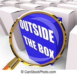Outside the Box Packet Means to Think Creatively and...