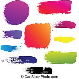 Color Blots Set