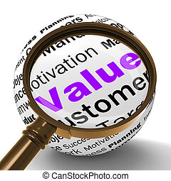 Value Magnifier Definition Means Importance And High Value -...