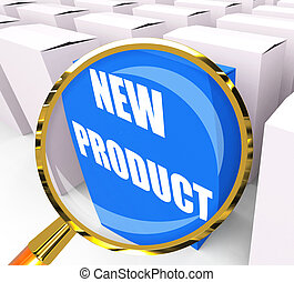 New Product Packet Indicates Newness and Advertisement - New...