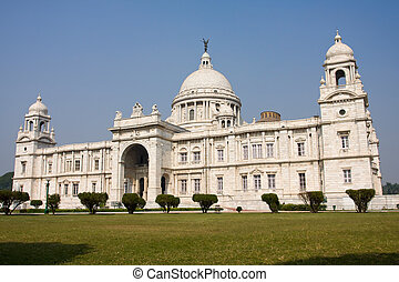 Victoria Memorial - Kolkata Calcutta - India - Landmark...