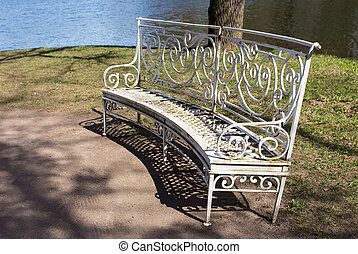 bench near the water