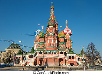 St Basils Cathedral, Moscow, Russia,Red Square