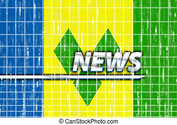 Flag of Saint Vincent and Grenadines news - News information...