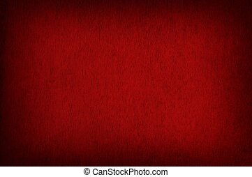 Red Texture Vignetted - Red Fabric Texture Vignetted