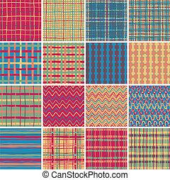 Textile seamless pattern SET No.6