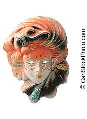 carnival mask  - Beautiful carnival mask from venice Italy