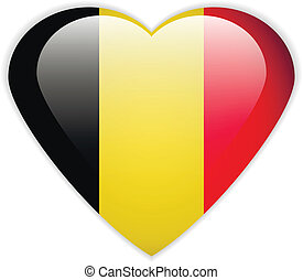 Belgium flag button.
