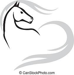 Horses emblem