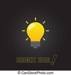 Bright idea - Bright idea poster