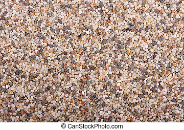 Colorful small sea pebbles - Texture of colorful small sea...