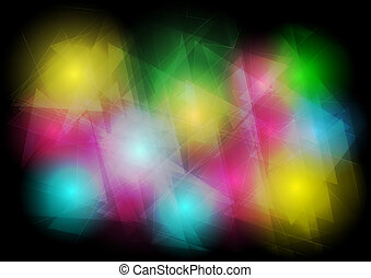 Abstract lighting background