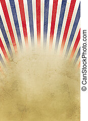 Retro background red, white and blue stripes