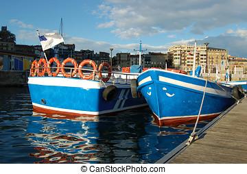 San Sebastian Port. Spain